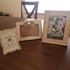 Farmhouse White Picture Frames